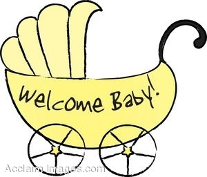 Image result for welcome baby clipart