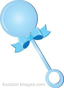 clip art of a blue baby rattle rh clipartguide com free clipart baby rattle baby rattle clip art black and white