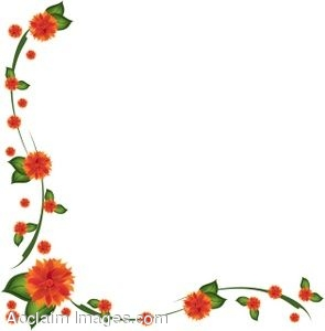 Flower Border Designs For Page