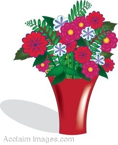 sc 1 st  Clipart Guide & Clip Art of a Vase With a Bouquet of Flowers In It