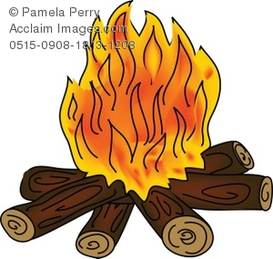 campfire with flames royalty free clip art picture rh clipartguide com Free Clip Art of a Campfire Girls campfire clipart black and white free