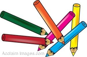 clip art of a set of colored pencils rh clipartguide com clipart pencils black and white clip art pencil picture