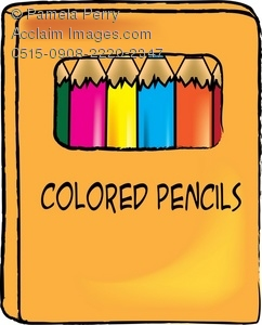 Box of Colored Pencils