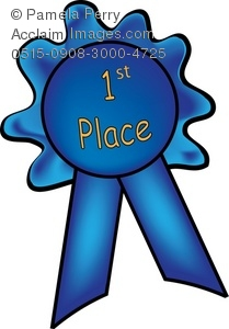 first place blue ribbon royalty free clip art picture rh clipartguide com first place clipart art first place clipart art