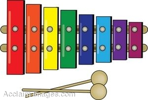 clip art of a childs colorful xylophone toy with mallets rh clipartguide com clipart of xylophone clipart of xylophone