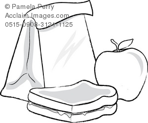 clip art drawing of a sack lunch rh clipartguide com lunch bag clipart free clipart sack lunch