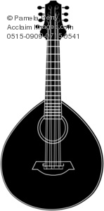 Lute Silhouette
