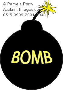 Bomb With a Lit Fuse