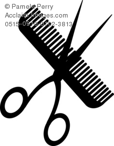 Scissors an a Comb