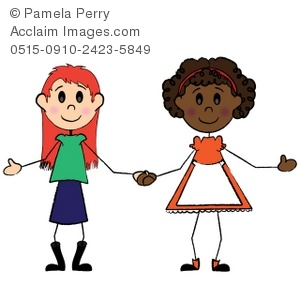 girl friends holding hands clip art picture rh clipartguide com clipart holding hands clipart hands holding something