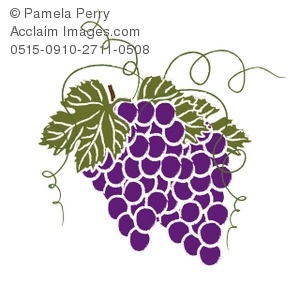 purple grapes with leaves royalty free clip art picture rh clipartguide com grape clipart black and white grape clipart free download