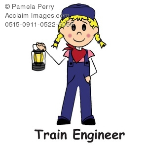 Female Train Engineer