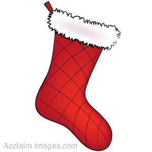 Clip Art Of A Christmas Stocking