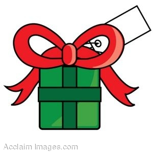clip art of a christmas present with a gift tag on it rh clipartguide com gift card clip art images visa gift card clipart