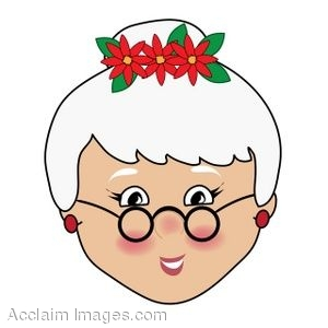 clip art of mrs claus rh clipartguide com mrs. claus clipart black and white mrs santa claus clipart