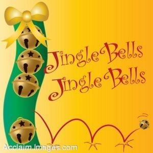 Jingle Bells Page Background