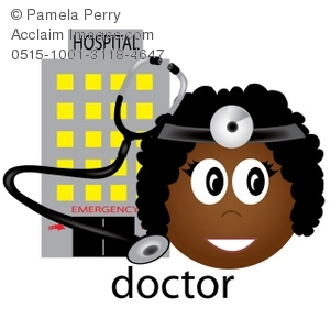 Female Doctor Occupation Icon