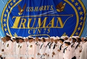 Clipart Photo Of Navy Sailors Waiting for Change of Command Ceremony