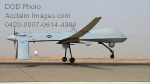 Free Public Domain Picture: MQ-1 Predator Drone Plane on Duty In Iraq