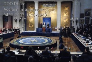 Free Public Domain Picture: World Leaders at the Annapolis Conference 2008