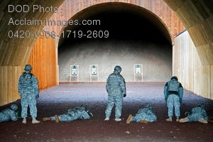 Free Public Domain Picture: U.S. Army Soldiers During Weapons Qualification Photo