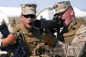 Free Public Domain Picture: U.S. Marine Soldiers During Weapons Training Photo