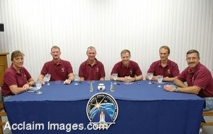 Photo Clip Art of The Atlantis Shuttle Crew for Mission STS-115