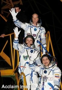 Clip Art Photo of  Prime Crew Members for Mission to the International Space Station