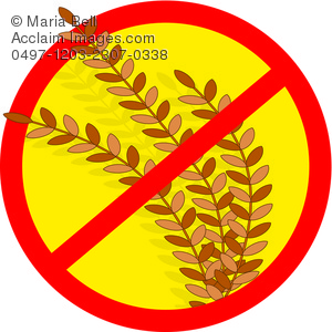 symbol showing this product does not contain wheat