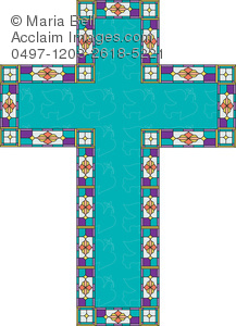 decorated ester cross christian symbol