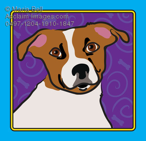 jack russell terrier dog breed cartoon drawing