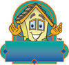 Cartoon House logo clipart
