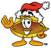 Santa Cartoon Hard Hat clipart