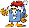 Cartoon Mailbox Holidays 1 clipart