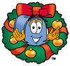 Cartoon Mailbox Holidays 4 clipart