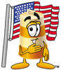 Cartoon Barrel Forth Of July clipart