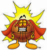 Cartoon Basketball Character Superhero clipart