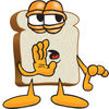 Cartoon Clipart Bread Whispering clipart