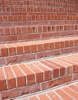 Red Brick Steps clipart