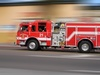 Fire Engine Speeding clipart