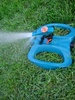 Sprinkler Watering The Lawn clipart