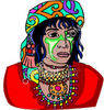 Holy Tribal Woman clipart
