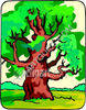 Large  English Oak Tree clipart