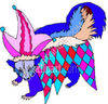 Skunk Animal Wearing Clothes clipart