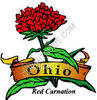 Red Carnation clipart