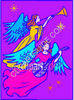 Colorful Angels clipart