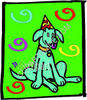 Birthday Doggie clipart