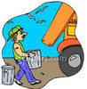 Trash Collector clipart