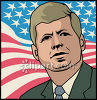 Pres. Kennedy clipart