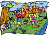 Family Campground clipart